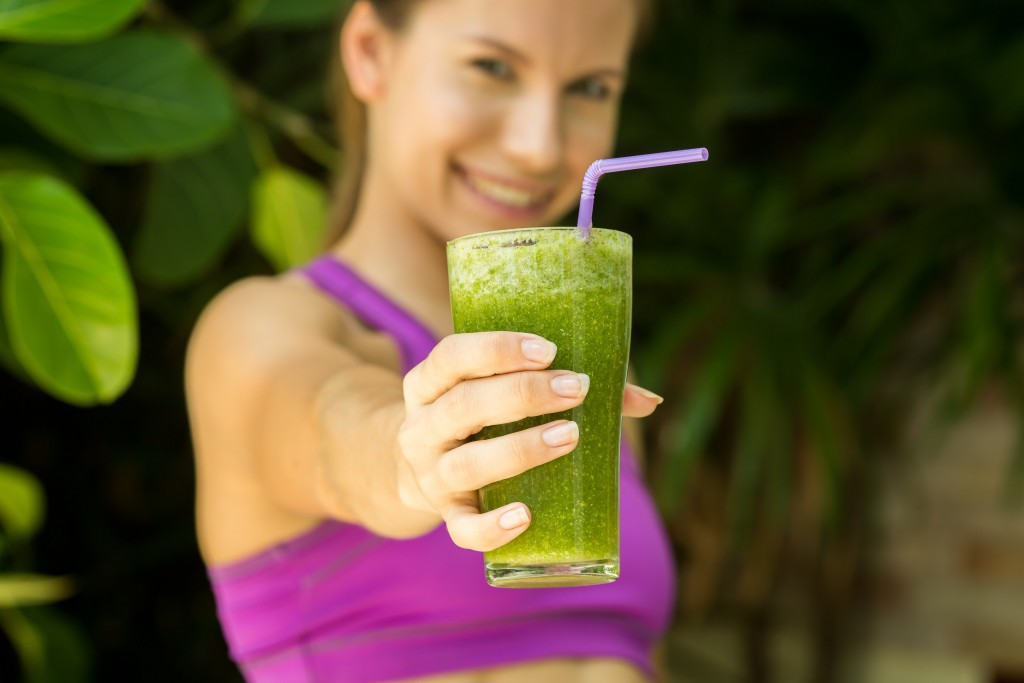 organic green smoothie detox