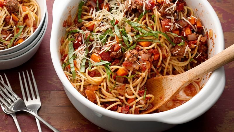 One-Pot Spaghetti alla Puttanesca Vegan Dinner Recipe