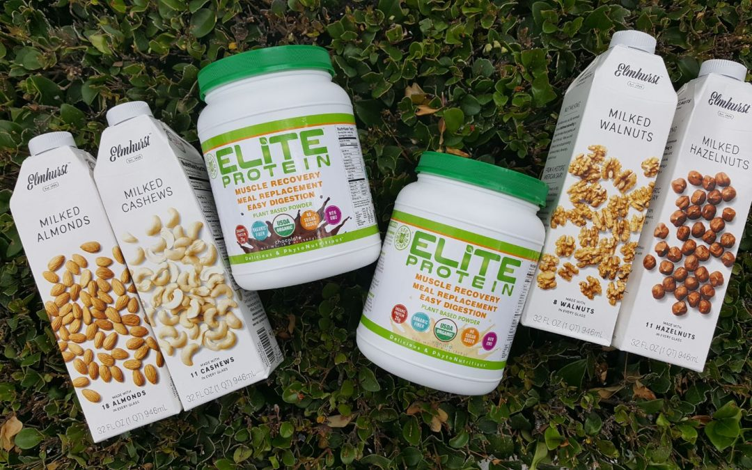 Make The Ultimate Smoothie with Elite Protein + Elmhurst Milked