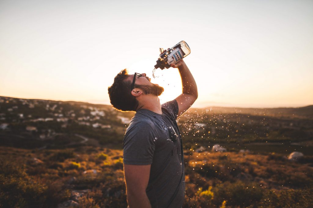 Staying hydrated helps with weight loss and achieving a summer body