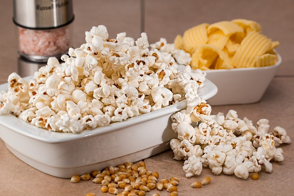 Popcorn is one of the best healthy snacks and it's easy to prepare