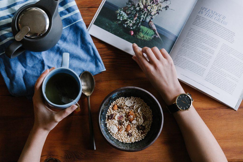 Breakfast vegan plant-based diet