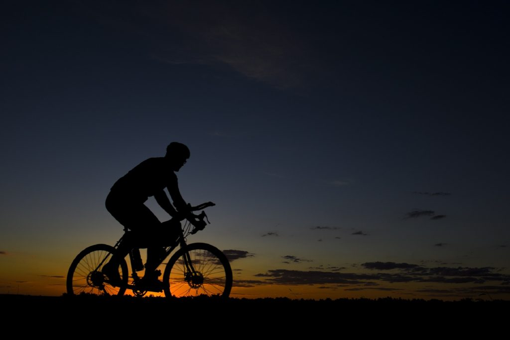 Working out during late afternoon or during sunset best time to workout
