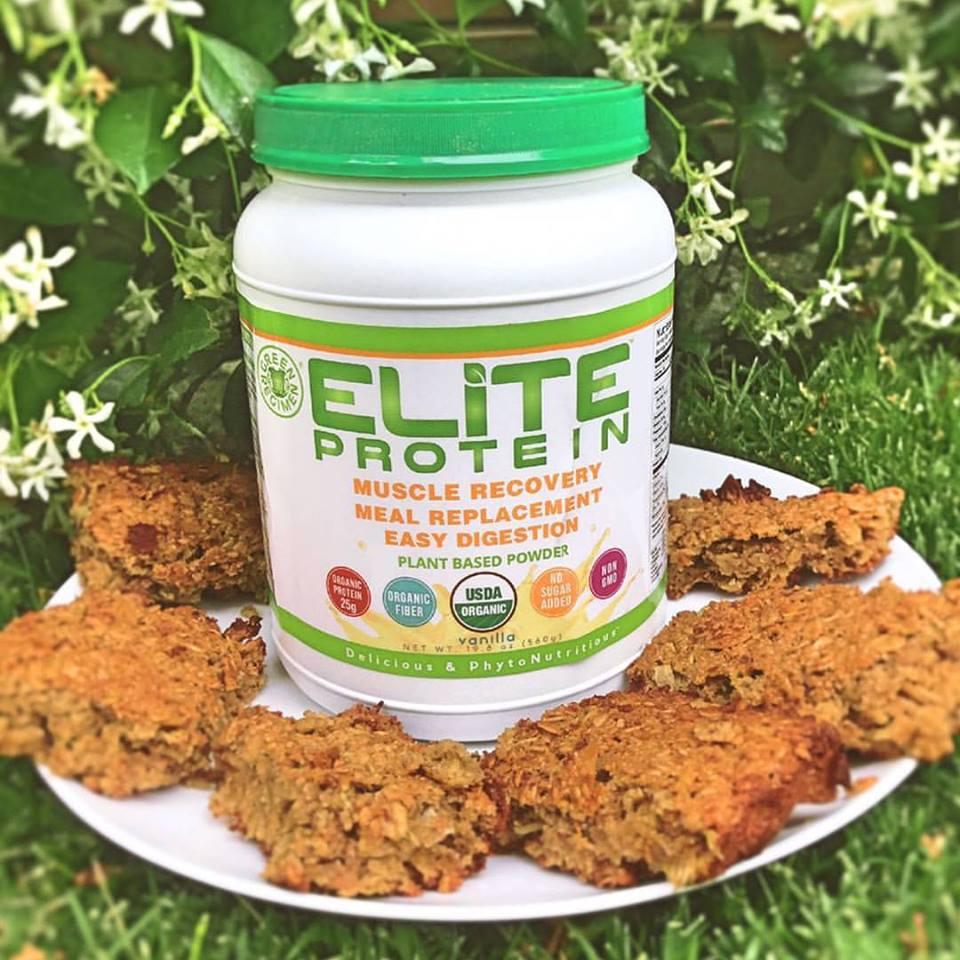 Elite Protein Elite Vegan Apple Crumble cake