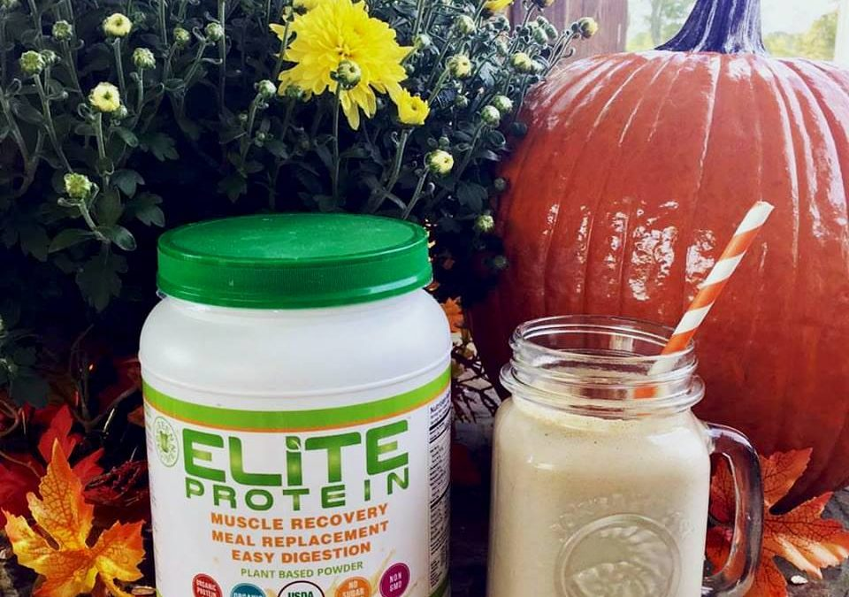 Elite Protein Pumpkin Spice Smoothie