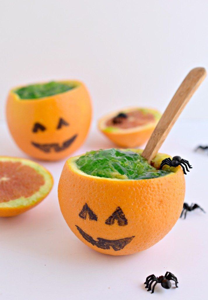 jel-o pumpkins